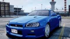 Nissan Skyline GT-R R34 Mspec
