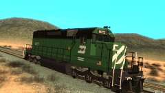 Lokomotive SD 40 Burlington Northern 8072