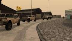 La base militaire reconstituée en quais v3.0