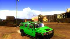 Hummer H2 updated für GTA San Andreas