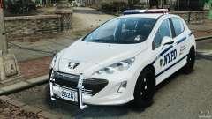 Peugeot 308 GTi 2011 Police v1.1
