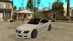 BMW M6 Coupe V 2010 pour GTA San Andreas