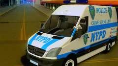Mercedes Benz Sprinter NYPD police