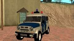 Bobik UAZ-3159 Police c. 2