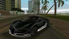 Bugatti Veyron Extreme Sport pour GTA Vice City