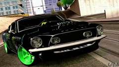 Shelby GT500 Monster Drift pour GTA San Andreas