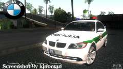 BMW 330 E90 Policija