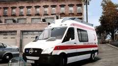 Mercedes Sprinter Turkish Ambulance
