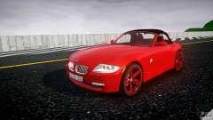 BMW Z4 Roadster 2007 i3.0 Final pour GTA 4