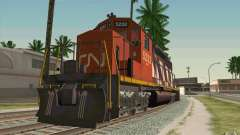 CN SD40 ZEBRA STRIPES