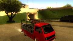 Volkswagen Transporter T3 pickup für GTA San Andreas