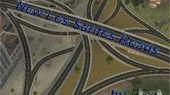 Construction de nouvelles routes de Los Santos