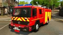 Mercedes-Benz Atego FPTGP Sapeurs Pompiers ELS pour GTA 4