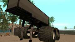 Remorque pour camion monstrueux
