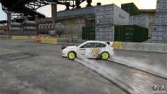 Subaru Impreza WRX STI Rallycross DC Gold Vinyl