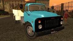 Camion-citerne de lait GAZ 53
