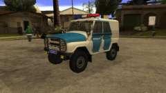 UAZ 31519 Polizei