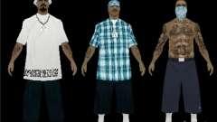 Neue Skins die Rifa gang für GTA San Andreas