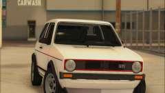 Volkwagen Golf MK1 Stock pour GTA San Andreas