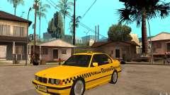 BMW 525tds E34 Taxi für GTA San Andreas
