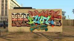 Los Santos City Graffiti Legenden v1
