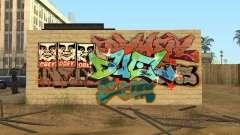 Los Santos City graffiti légendes v1
