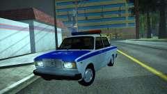 VAZ 2107 Polizei
