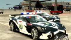 Chevrolet Corvette Z06 Police für GTA 4