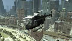 Black U.S. ARMY Helicopter v0.2