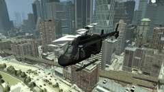 Black U.S. ARMY Helicopter v0.2 pour GTA 4