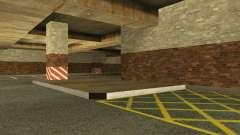 Le nouveau garage souterrain par la police à Los