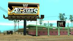 Nouvelle boutique WWE pour GTA San Andreas
