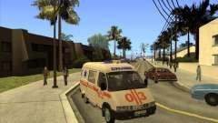 GAZ 22172 ambulance