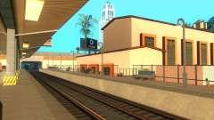 Les plates-formes élevées dans les gares