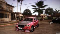BMW X5 with Wagon BEAM Tuning für GTA San Andreas