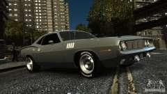 Plymouth Hemi Cuda 1971 pour GTA 4