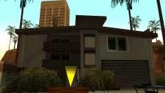 Das modifizierte Haus am Strand von Santa Maria