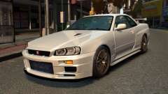 Nissan Skyline R34 2002 pour GTA 4