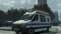 Mercedes-Benz Sprinter Azerbaijan Ambulance v0.1