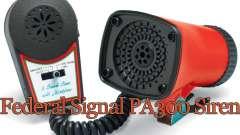 Federal PA300 Sirene