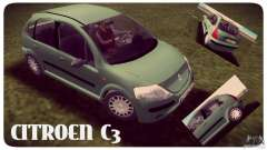 Citroen C3 für GTA Vice City