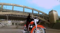 Harley-Davidson FL Duo Glide 1961 (Lowrider) pour GTA San Andreas