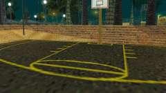 New basketball court