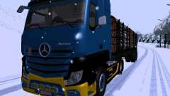 Mercedes Benz Actros MP4 für GTA San Andreas
