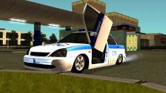 LADA 2170 Polizei