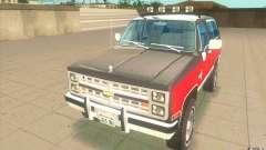 Chevrolet Blazer K5 Stock 1986 pour GTA San Andreas