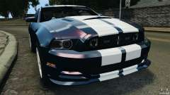 Ford Mustang 2013 Police Edition [ELS] pour GTA 4