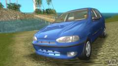 Fiat Palio turquoise pour GTA Vice City