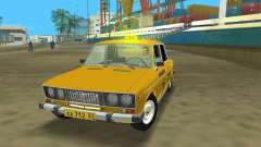 VAZ 2106 Taxi V 2.0 für GTA Vice City