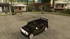 H2 HUMMER DUB LOWRIDE pour GTA San Andreas